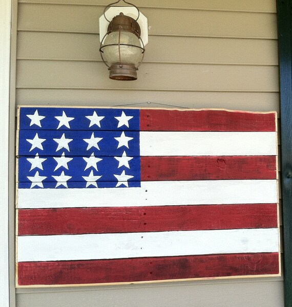 Items Similar To Reclaimed Pallet Wood Rustic American