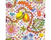 "Josef Frank Designer Linen Fabric ""Brazil"" - 0.5m, 315g/m2"