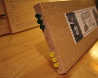 Bumper Sticker Board