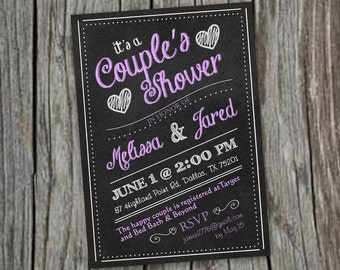 Printable Bridal or Couple's Shower Invitation