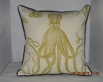 "Thomas Paul sea life pillow 18"" X 18"""