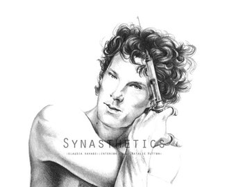 """Sherlock """"Comfortably Numb"""" - Giclée LIMITED PRINT A3 Edition 7/20"""