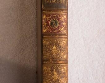 1839 Printing of Don Quixote, volume 3 - Man of La Mancha (English)