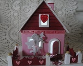 Charming Valentine Miniature House