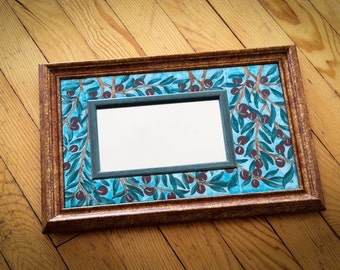 SALE / %20 off / Wall mirror with aegean breeze