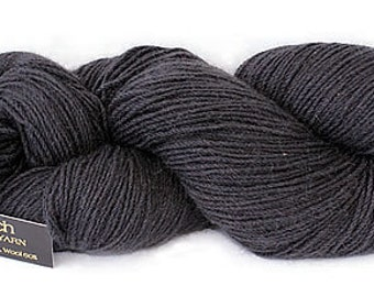 Possum Merino Yarn- Charcoal 2008