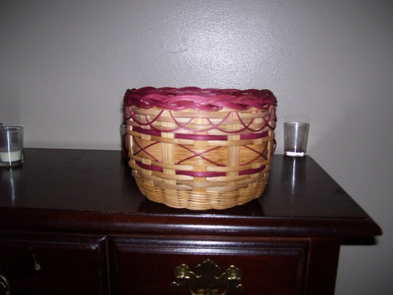 Mary's Braided Rim Basket