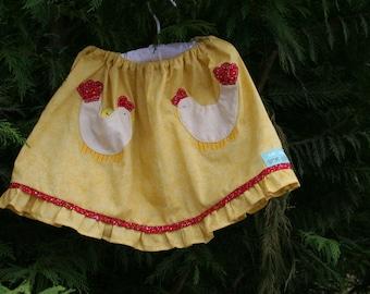 Pocket twirly skirt