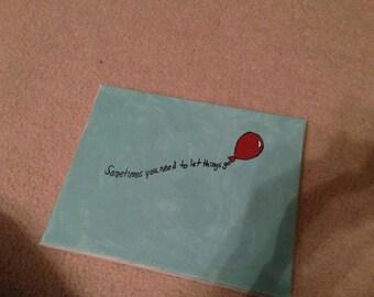 Let Things Go Balloon Art
