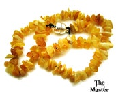100 GENUINE Butterscotch BALTIC AMBER Child  Baby Adult Grade A Chips true real Bracelet Necklace Anklet all sizes fossilized tree resin