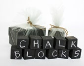 Chalk Blocks Set of 8