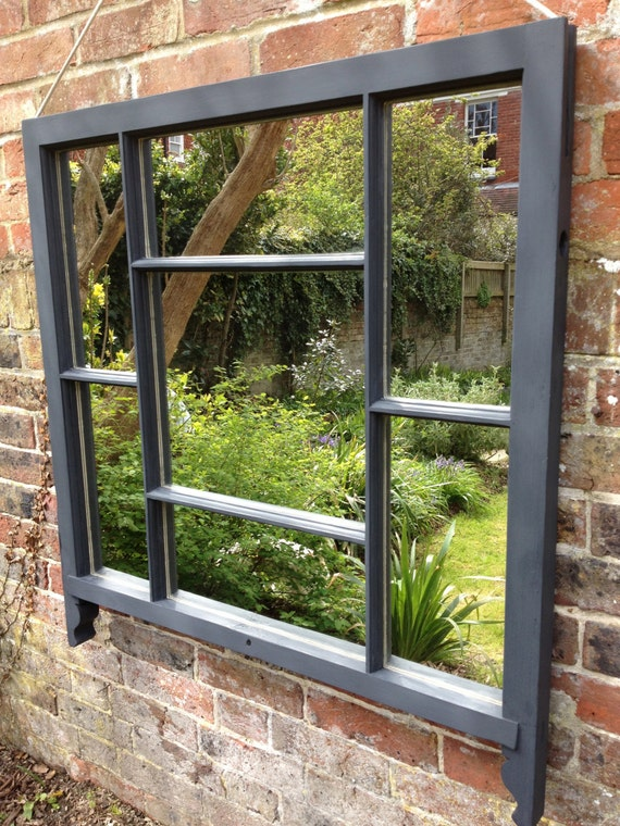 Favolosi specchi realizzati da vecchio di rescuedretrovintage - Finestre a ghigliottina ...