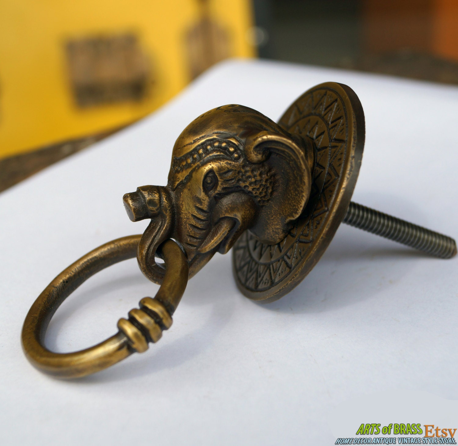 Antique door pulls knobs -  Zoom