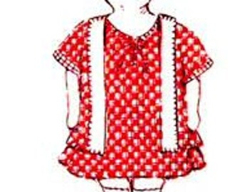 Betty The Flapper Doll Pattern 1235  - Photocopy
