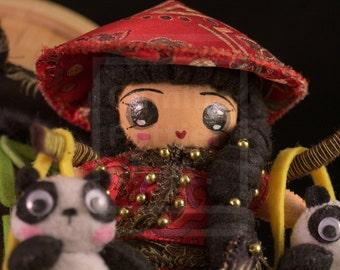 Li mei/OOAK/Handmade Doll
