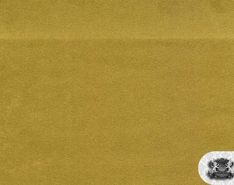 """Micro PASSION SUEDE Celery 39 Fabric / 58"""" Wide / Sold By the Yard"""