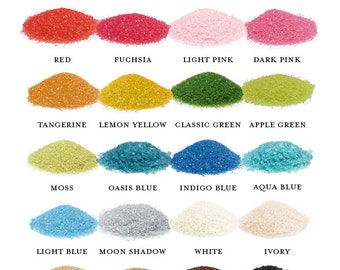 Unity Ceremony Sand (1 Pound) -  Variety Of Colors To Choose From