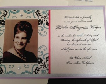 Personalized a Birthday Invitation with Photo