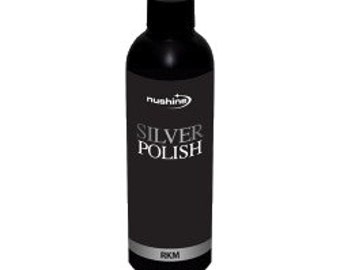 Nushine Silver Polish 100ml, ecofriendly & removes heavy tarnish effortlessly