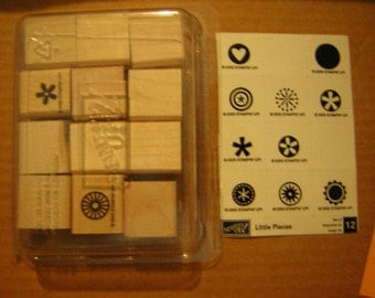 Stampin Up Stamp Set - Little Pieces