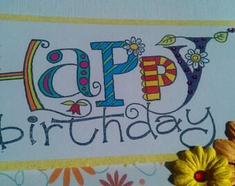 A5 Birthday card