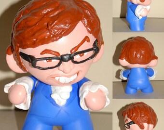 "Custom 7"" Munny ( Austin Powers)"