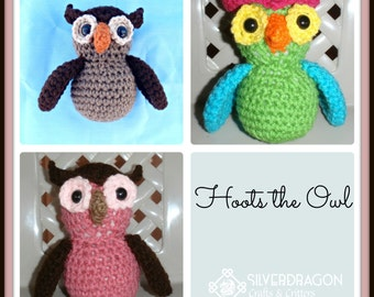 Custom Hoots the Owl in colors of choosing