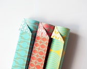 Double Sided Wrapping Paper, gift paper, mixed pack, 3 sheets