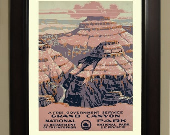 Grand Canyon National Park Poster - 3 sizes available, one low price.