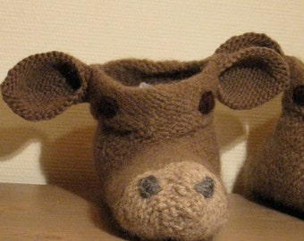 Cow slippers socks shoes