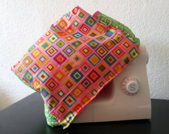 Sewing machine cover-up