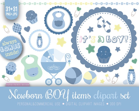 31 Newborn Baby Shower Clipart Newborn Clipart Baby Boy