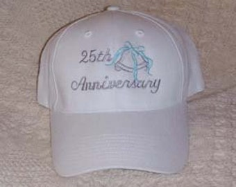 Anniversary Hats - Choose either 25th or 50th