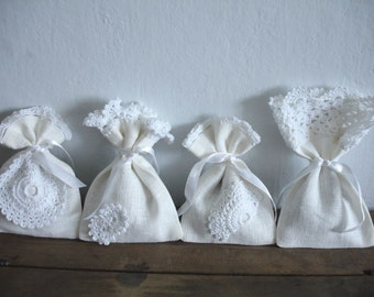 Lavender Bags Set of 4