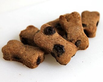 Peanut Butter Carob Chip Dog Biscuits, All Natural Dog Treats, Small Dog Treats, Premium Dog Treats, Gourmet Dog Treats