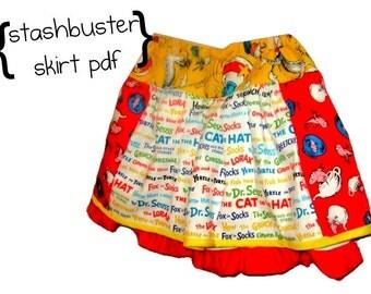 PDF Toddler Skirt Sewing Pattern