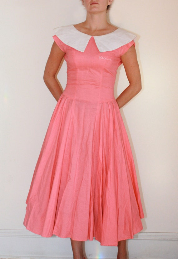 Items similar to Sandy from Grease 1950s summer dress on Etsy