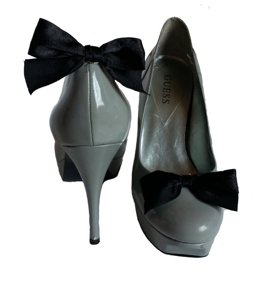 Douqu A Pair Bridal Wedding Multi Colors Elegant Leather Bow Shoe Clips Shoe Accessories for Women Lady (4#) by Shoe Accessories. $ $ 10 99 Prime. FREE Shipping on eligible orders. Only 12 left in stock - order soon. out of 5 stars 8. See Details. Promotion Available See Details.