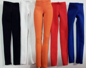 Fashion Royalty, Barbie or Similar.  Stretch Skinny Pants.  5 Colours