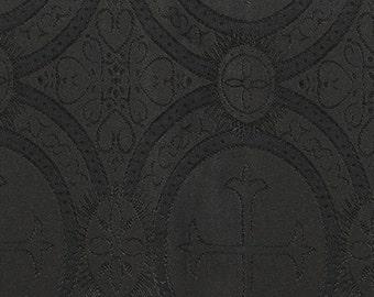 Church fabric black