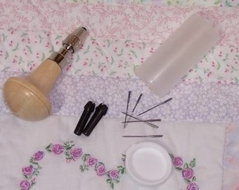 Hair RoOtiNg ToOL & NeEdLeS FoR ReBoRn DoLL
