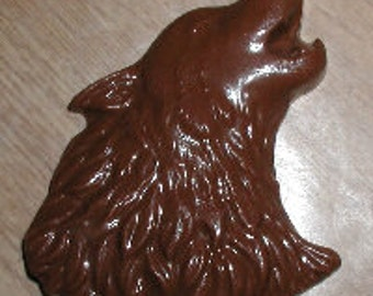 Wolf Head Lolly Chocolate Mold