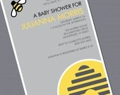 What's it going to Bee - Baby Shower Invitation
