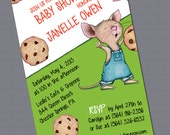 Print-It-Yourself: If You Give a Mouse a Cookie Shower Invitation