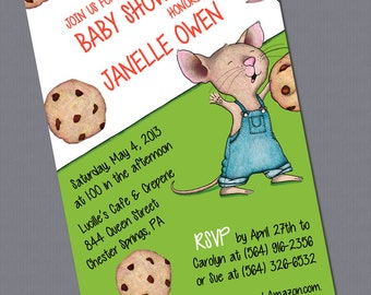 Print-It-Yourself: If You Give a Mouse a Cookie Birthday Invitation