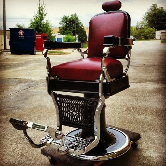 Items Similar To Fully Restored 1920 S Koken Barber Chair