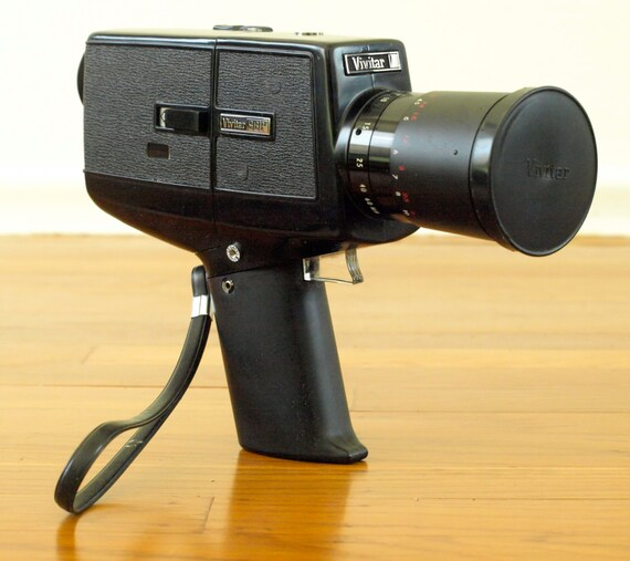 vivitar 98p vintage super 8 movie camera super 8 film camera. Black Bedroom Furniture Sets. Home Design Ideas