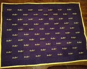 Crown Royal Blanket Etsy