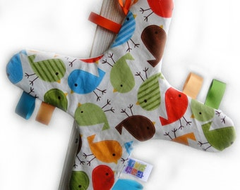 Modern and Colourful Taggy Blankets