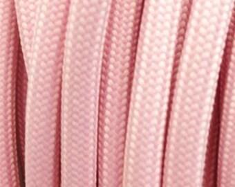 Pastel pink textile cord 2 son - 0.75 mm